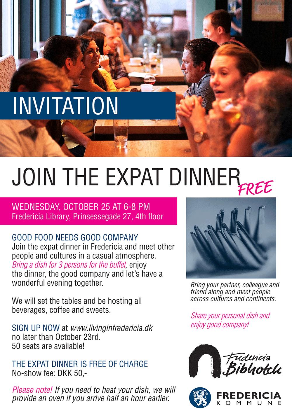 expat dinner