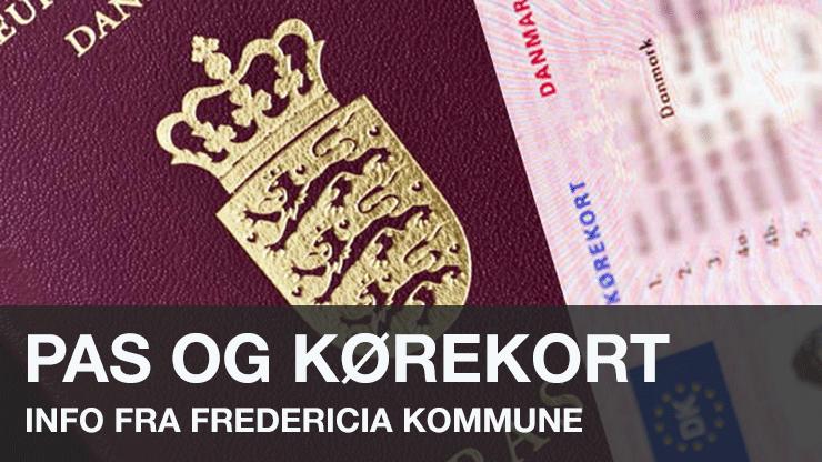pas og kørekort
