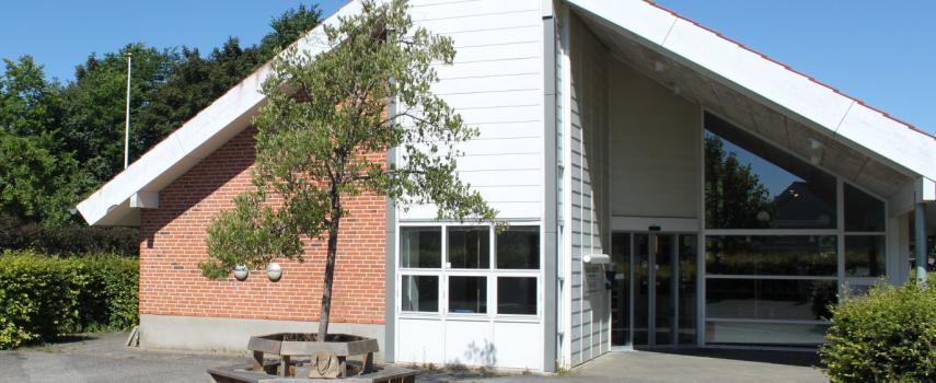 Taulov bibliotek facade